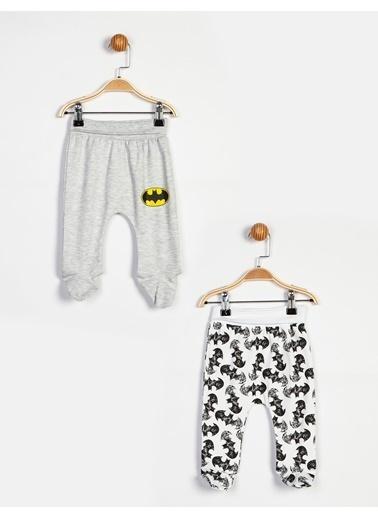 Batman Patikli Alt Beyaz